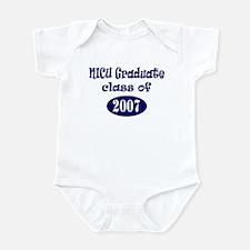 NICU Graduate Class of 2007 - Blue Infant Bodysuit