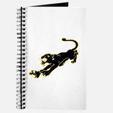 Panther silhouette Journal