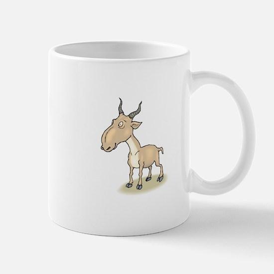 Gnu cartoon Mugs