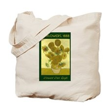 "Van Gogh's ""Sunflowers"" - Tote Bag"