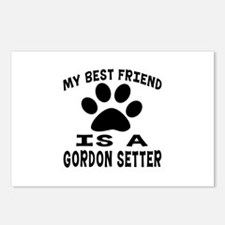 Gordon Setter Is My Best Postcards (Package of 8)