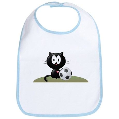 Soccer Kitty Bib