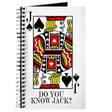 Do You Know Jack? Journal