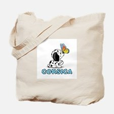 Dog&butterfly Tote Bag