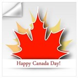 Canada day Wall Decals