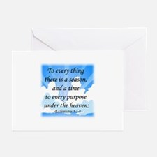 """To Every Thing ..."" Greeting Cards (Pk of 20)"