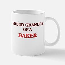 Proud Grandpa of a Baker Mugs