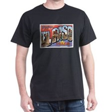 El Paso TX Postcard T-Shirt