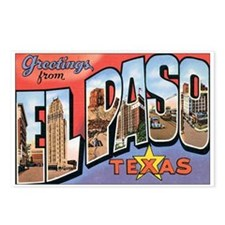 El Paso TX Postcard Postcards (Package of 8)