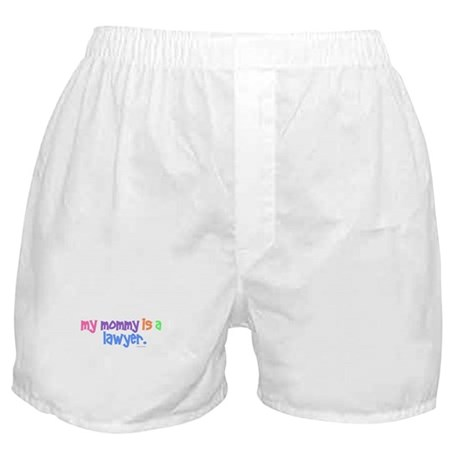 My Mommy Is A Lawyer (PASTEL) Boxer Shorts