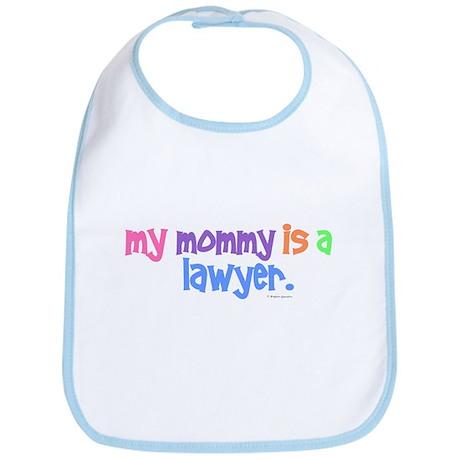 My Mommy Is A Lawyer (PASTEL) Bib