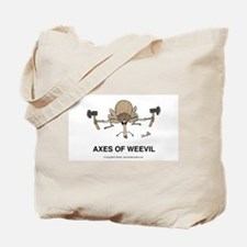 Axes of Weevil Tote Bag