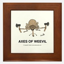 Axes of Weevil Framed Tile