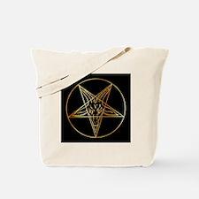 Funny Satan Tote Bag