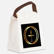 Cute Religion Canvas Lunch Bag