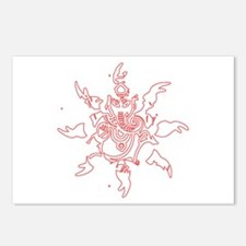 Ganesh Graphic Postcards (Package of 8)