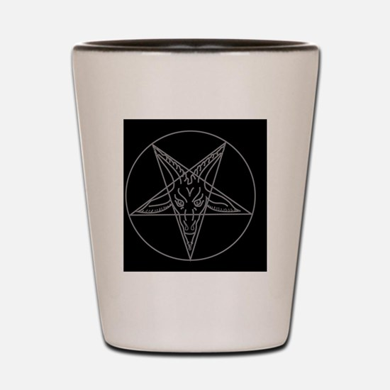 Cute Satanism Shot Glass