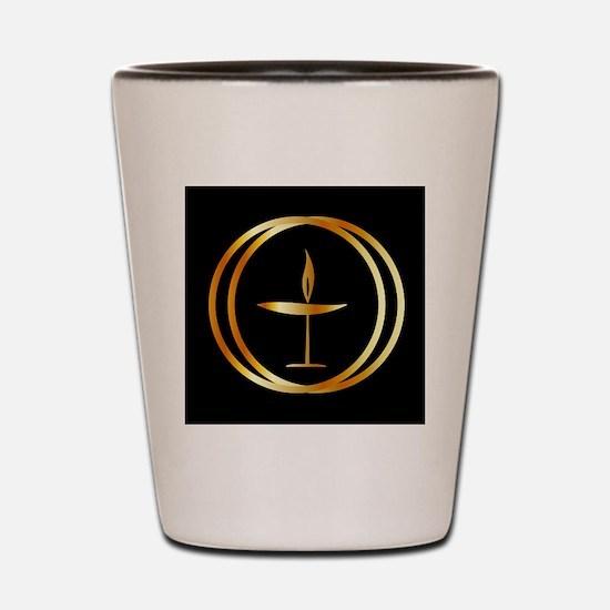 Cute Religion Shot Glass