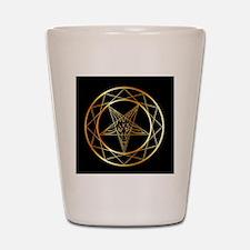 Cool Satanic Shot Glass