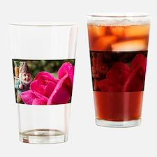 Rosie Gnome Drinking Glass