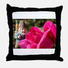 Rosie Gnome Throw Pillow
