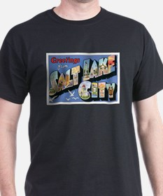 Salt Lake City Postcard T-Shirt