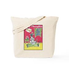 Yoga Greyhound Tote Bag