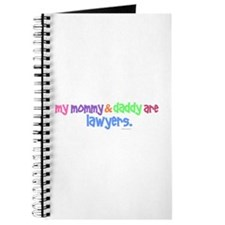 My Mommy & Daddy Are Lawyers (PASTEL) Journal