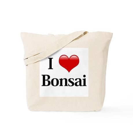 I Love Bonsai Tote Bag