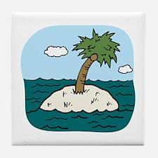 Desert Isle Tile Coaster