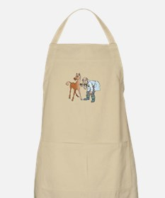 Veterinarian doctor with horse Apron