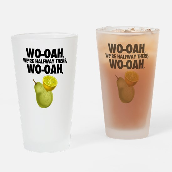 Cute Funny puns Drinking Glass