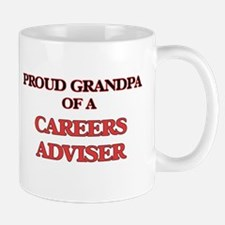 Proud Grandpa of a Careers Adviser Mugs