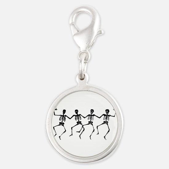 Dancing Skeletons Charms
