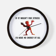 NO ENERGY Wall Clock