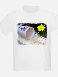 Got Coffee Lizard T-Shirt