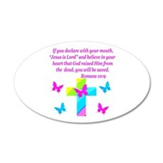 ROMANS 10:9 Wall Decal