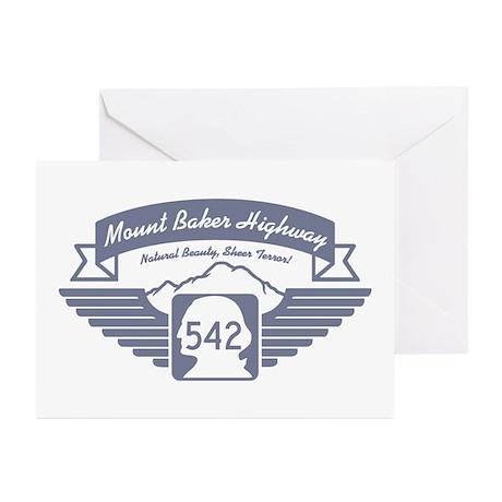 Mt. Baker Highway Greeting Cards (Pk of 10)