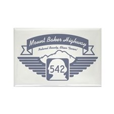 Mt. Baker Highway Rectangle Magnet