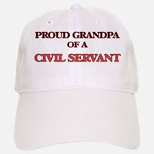 Proud Grandpa of a Civil Servant Baseball Baseball Cap
