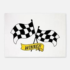 Winner Flags 5'x7'Area Rug