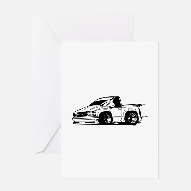 Chevy SSR Greeting Cards