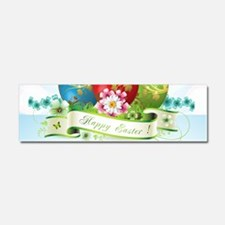 Happy Easter Car Magnet 10 x 3