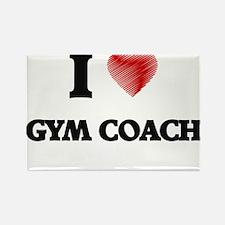 I love Gym Coach Magnets