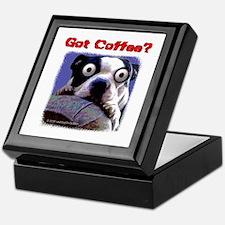 Got Coffee Dog Keepsake Box