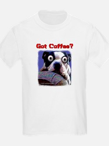 Got Coffee Dog T-Shirt