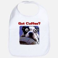 Got Coffee Dog Bib