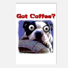Got Coffee Dog Postcards (Package of 8)