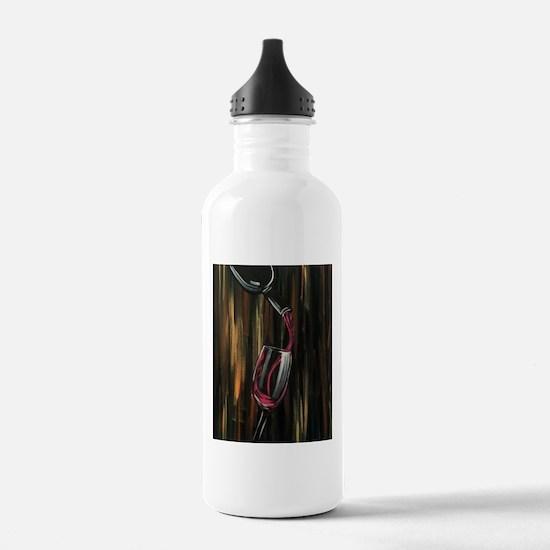 Fine Wine Water Bottle