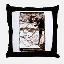 Break the Chain, or Break my  Throw Pillow